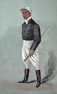 Fred Rickaby English flat racing jockey