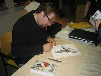 Megatokyo - Creator Fred Gallagher in 2004.