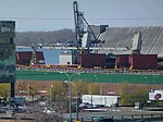 Freighter Whistler moored at the Redpath Sugar Refinery, 2013 05 02 -g.JPG