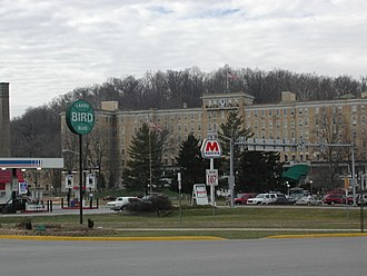 French Lick, Indiana - French Lick Resort and Larry Bird Boulevard