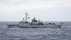 French frigate Jean Bart (D615) underway in the Mediterranean Sea on 20 May 2017.JPG