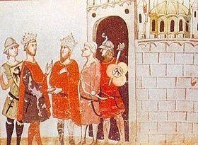 Rétrocession de Jérusalem à Frédéric II par Al-Kamil