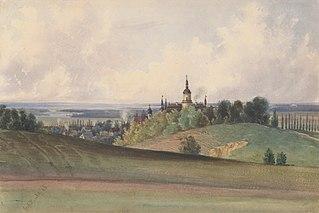 View of Gross Herrlitz