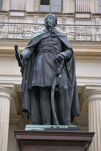 Albert Wolff (sculptor) - Image: Friedrich Franz I Ludwigslust