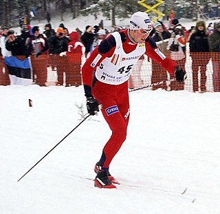 Frode Estil Norwegian cross-country skier