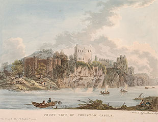 Front View of Chepstow Castle