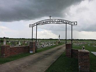 Frydek, Texas - Image: Frydek TX St Marys Cemetery