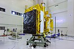 Fueling of Astrosat-1 in satellite preparation facility at SDSC SHAR.jpg