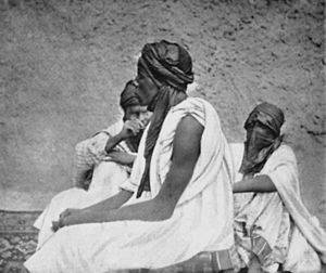 Sokoto Caliphate - Photo of residents of Sokoto 1900