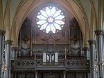 Göteborg Oskar-Fredriks-Kirche Innen Orgel.JPG