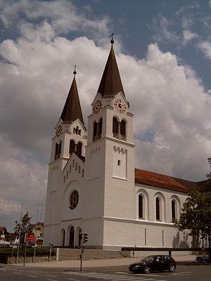Götzis - church: Pfarrkirche hl. Ulrich
