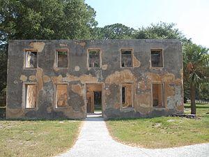Horton House - Image: GA Jekyll Island Horton House Hist Site house 07