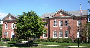 Former Grand Lodge building at Worthington, Ohio