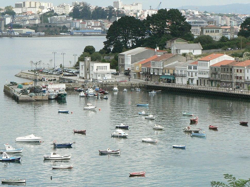 Porto de Mugardos.