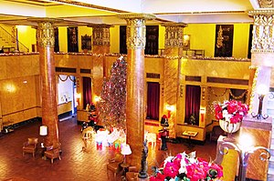 Douglas, Arizona - Lobby of Gadsden Hotel, Douglas