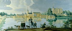 Frederiksborg Castle - The castle under Frederick II, c.1585