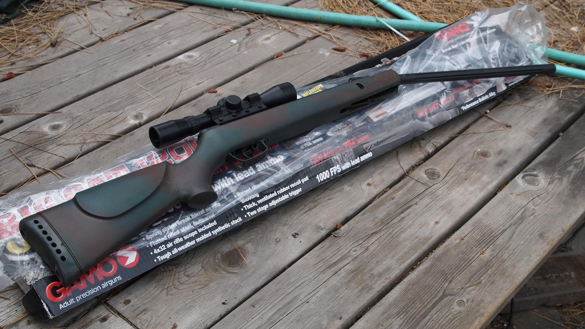 Gamo Big Cat Review  Cal