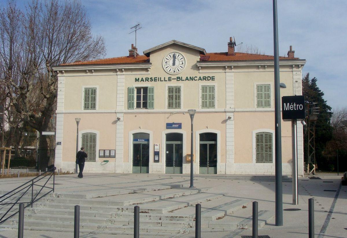 Garde Du Corps Marseille gare de marseille-blancarde — wikipédia