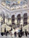 Είσοδος της Όπερας Garnier στο Παρίσι (1865).