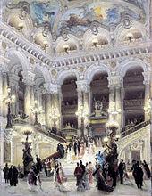 Op ra garnier wikipedia for Interni parigini