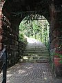 Gateway from the Water Tower Gardens and Maze - geograph.org.uk - 534102.jpg