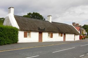 1759 in Scotland - Burns Cottage, Robert Burns' birthplace at Alloway
