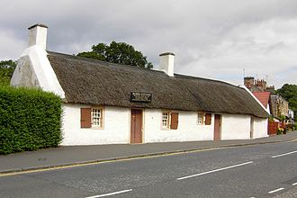 Robert Burns - The Burns Cottage in Alloway, Ayrshire