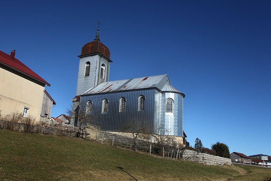Eglise de Gellin.
