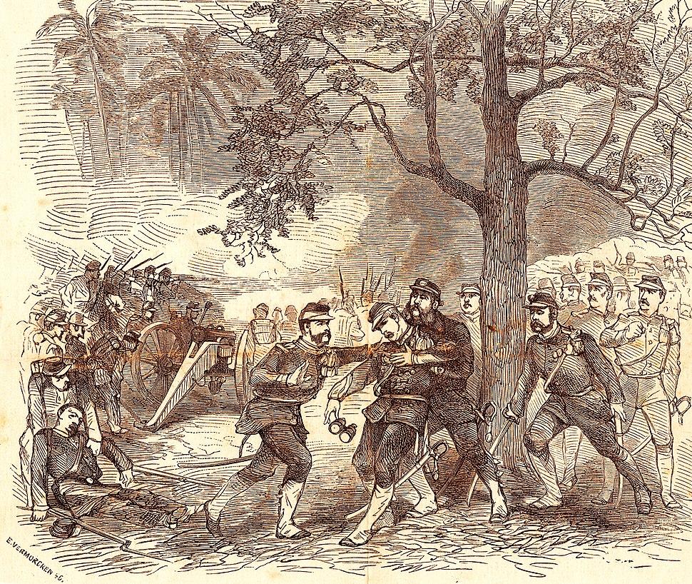 Generaal Kohler sneuvelt in de Mesigit