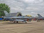 General Dynamics F-16 A 'Fighting Falcon' - Vliegbasis Leeuwarden (27544892151).jpg