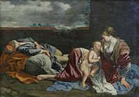 Gentileschi - Le Repos de la Sainte Famille pendant la fuite en Égypte 02.jpg