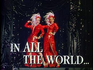 Gentlemen Prefer Blondes Movie Trailer Screens...