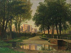 Il castello di Kenilworth - Georg Saal, Kenilworth Castle, 1866