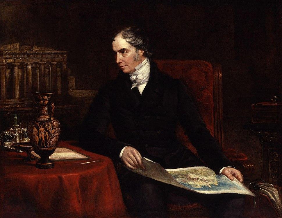 George Hamilton Gordon, 4th Earl of Aberdeen by John Partridge