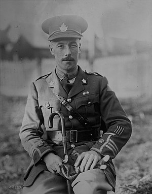 George Pearkes - Pearkes during World War One.