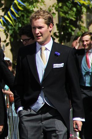 George Percy, Earl Percy - Percy at the wedding of his sister Melissa in June 2013