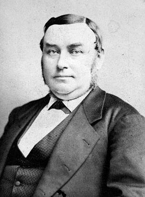 George William Childs -   George W. Childs Portrait by Frederick Gutekunst