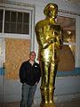 George with Paul Bunyan (5079680391).jpg