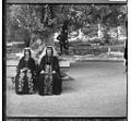 Georgian women on holiday in Borjomi B&W.jpg