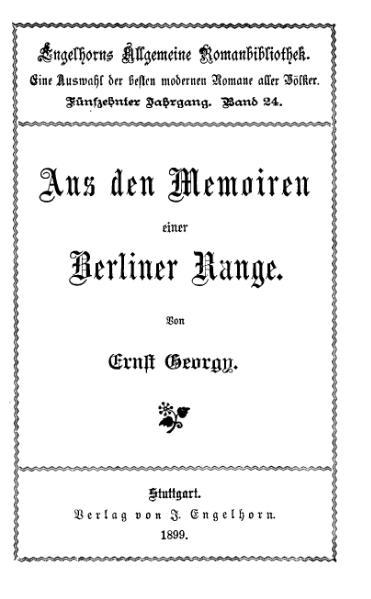 File:Georgy Memoiren einer Berliner Range.djvu