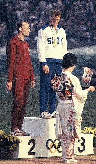 Gergely Kulcsár - Gergely Kulcsár (left) and Pauli Nevala at the 1964 Olympics