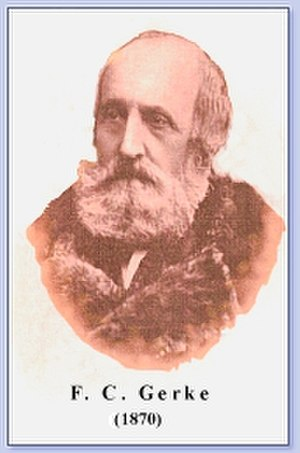 Friedrich Clemens Gerke - Image: Gerke 1870