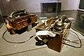 "German military field telephone Feldfernsprecher 1933 (FF33) used as ""felttelefon"" by Norwegian Army after WW2 until the 1990s. Armed Forces Museum (Forsvarsmuseet) Oslo, Norway 2020-02-25 3273.jpg"