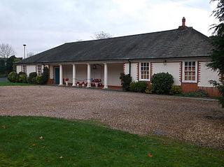 Gerrards Cross Memorial Building community centre and First World War memorial in Gerrards Cross in Buckinghamshire, England