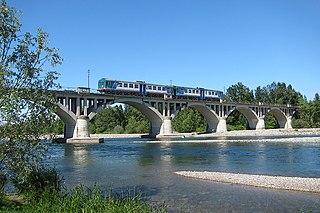 Biella–Novara railway Italian railway line