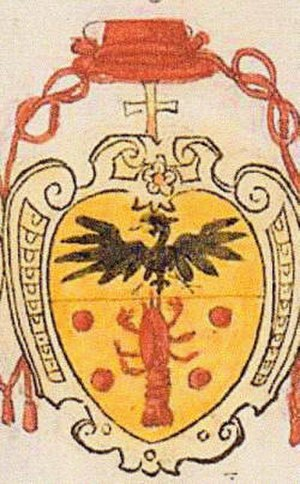 Gianfrancesco Gambara - Coat of arms of Cardinal Gianfrancesco Gambara