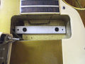 Gibson Les Paul Deluxe pickup-cavity with aluminum-spacer for Mini-humbucker.jpg