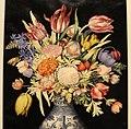 Giovanna garzoni, vaso cinese con tulipani e altri fiori, due susine e due piselli, 1641-52 ca. (GDSU) 02.JPG