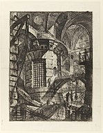 Giovanni Battista Piranesi - Le Carceri d'Invenzione - Second Edition - 1761 - 03 - The Round Tower.jpg