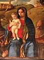 Giovanni bellini, madonna tra i ss. g. battista, francesco, girolamo, sebastiano e un committente, 1507, 05.jpg